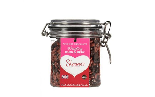Ruby and Dark Hot Chocolate - Sloane's Hot Chocolate (400g)