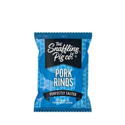 Perfectly Salted Pork Rinds - Pork Crackling - Snaffling Pig (70g)
