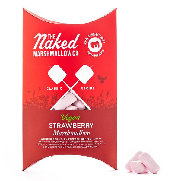 Vegan Marshmallows - Strawberry
