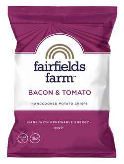 Bacon & Tomato - Fairfield's Farm Crisps (150g)