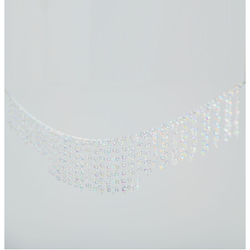 Beaded Garland Iridescent- 6ft