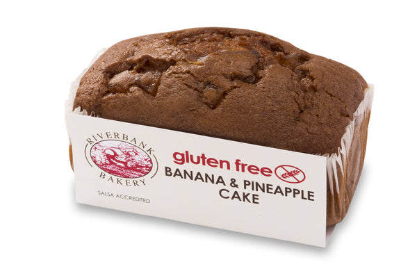 Gluten Free Banana & Pineapple Cake - RIVERBANK