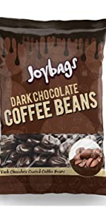 Dark Chocolate Coffee Beans (150g) - Joybags