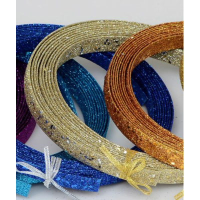 Glitter Ribbon Dec Champ- 15ft