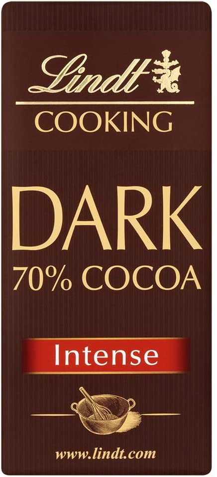 Cooking Bar Dark 70% Cocoa - Intense 180g - LINDT