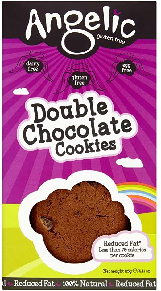 Double Chocolate Cookies (125g) - Angelic Gluten Free