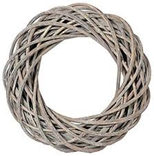 Large Wreath Ring - Willow/Wicker