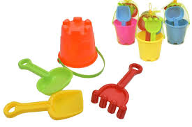 Z/ Castle Bucket Set 4pc