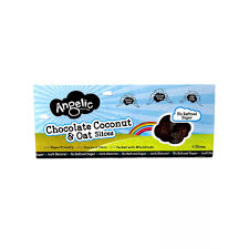 Chocolate, Coconut & Oat Slices (180g) - Angelic Gluten Free