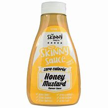 Honey Mustard #NotGuilty Virtually Zero® Sugar Free Sauce - The Skinny Food Co - 425ml