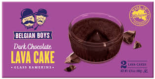 Dark Chocolate Lava Cake - Belgian Boys 180g