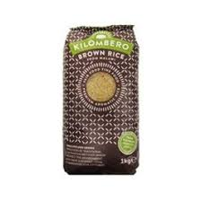 African Brown Long Grain Rice - Kilombero Rice