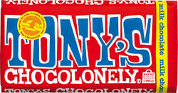 Milk Chocolate (180g) - Tony's Chocolonely