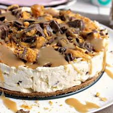 Salted Caramel Chocolate & Honeycomb Cheesecakes (Serves 2) - Cook