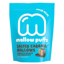 Salted Caramel Mallows Dunked in Belgian Dark Chocolate - Baru (100g)
