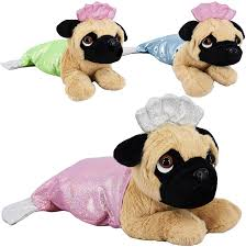 Pug Mermaid - Plush Toy