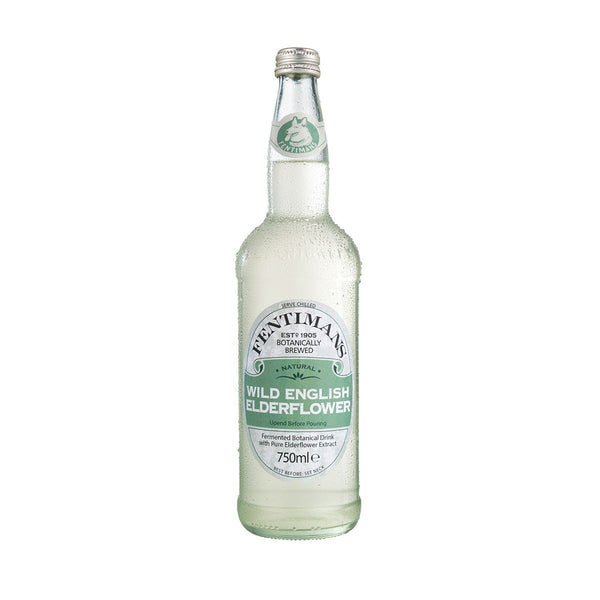 Fentimans Gently Sparkling Elderflower (750ml)