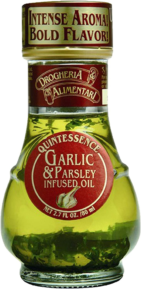 Garlic & Parsley Infused Oil (80ml) - DROGHERIA & ALIMENTARI