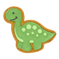 Green Gingerbread Dinosaurs - Original Biscuit Bakers