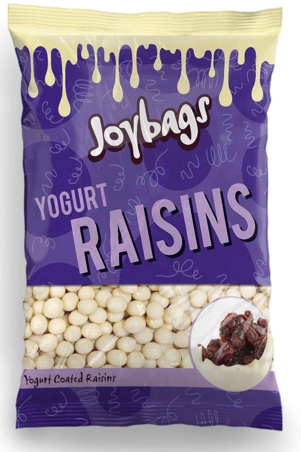Yogurt Coated Raisins (150g) - Joybags