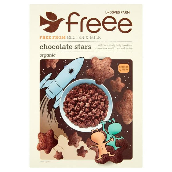 Chocolate Stars (300g) - Doves Farm