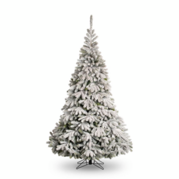 Snow Flocked Oregon Tree - 7ft - Type A