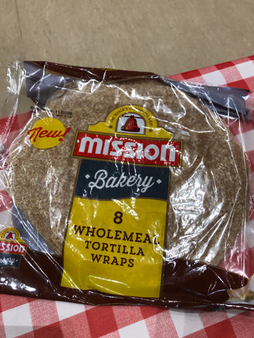Wholemeal Tortilla Wraps (8 pack)