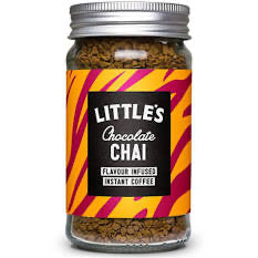 Flavoured Instant Coffee Chocolate Chai (50g) - Little's