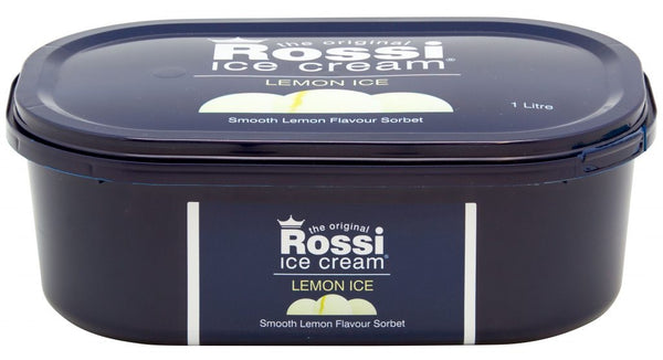 Lemon Ice Cream - Rossi (1 Litre)
