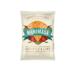 Chipotle & Lime Corn Chips (160g) - Manomasa
