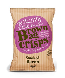 Smoked Bacon (150g) - Brown Bag Crisps