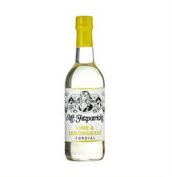Lime & Lemongrass Cordial (500ml) - Mr.Fitzpatricks