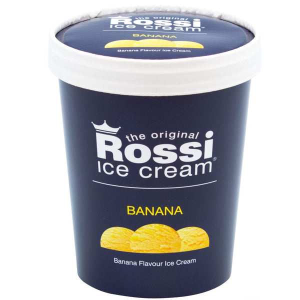 Banana Ice Cream - Rossi (500ml)