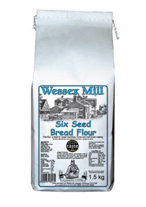 Six Seed Bread Flour  (1.5kg) - Wessex Mill
