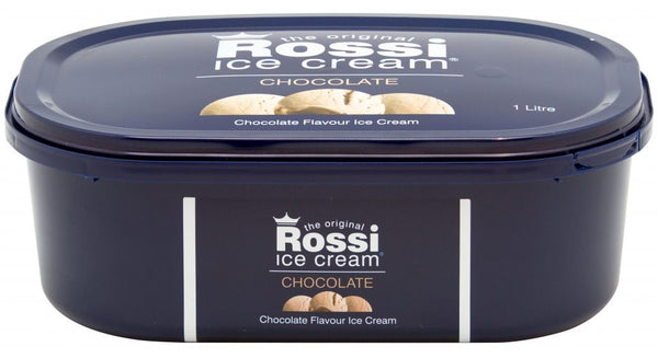 Chocolate Ice Cream - Rossi (1 Litre)