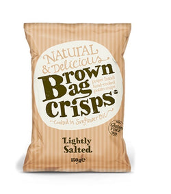 Lightly Salted (150g) - Brown Bag Crisps
