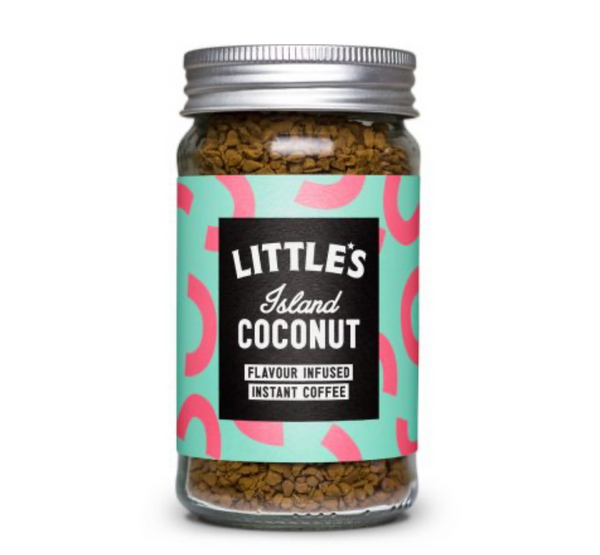 Flavoured Instant Coffee Island Coconut (50g) - Little's