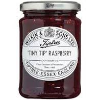 Tiny Tip Raspberry Conserve 340g - Tiptree