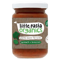 Broccoli & Spinach Sauce (130g) - Little Pasta Organics