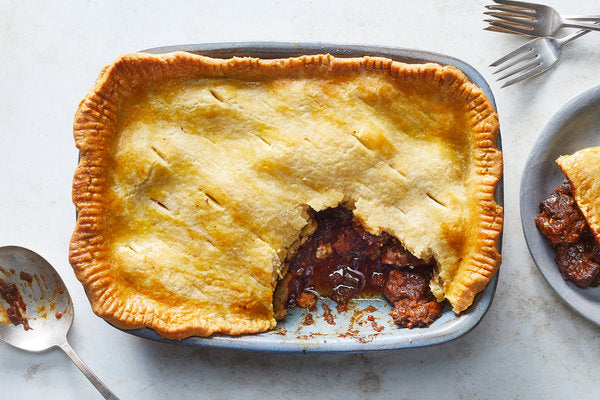 Steak & Red Wine Pie (Serves 2) - Cook