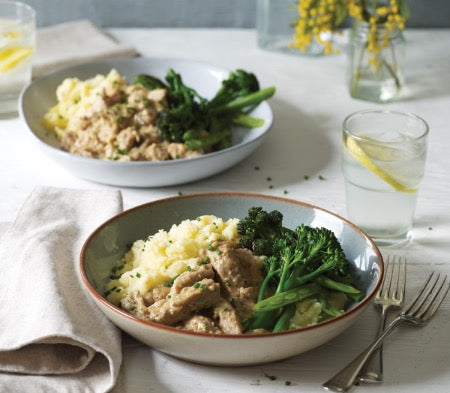 Pork Dijon (Serves 1) - Cook