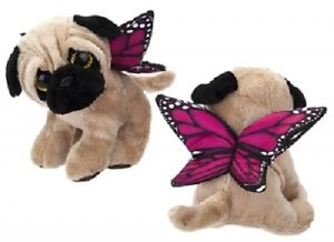 Butterfly Pug - Plush Toy