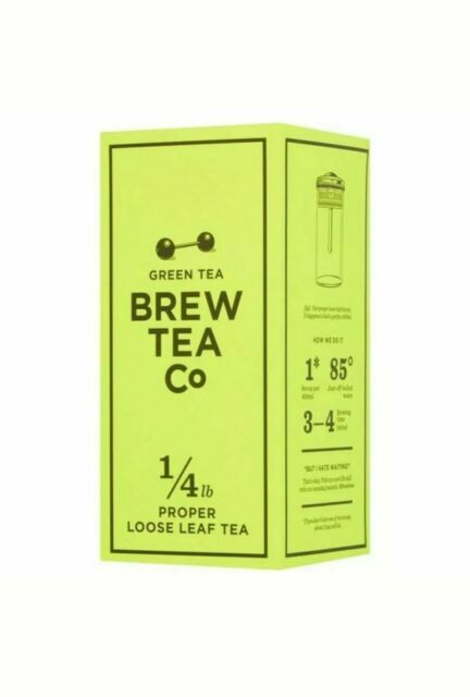 Green Tea Tea - Brew Tea Co