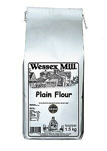 Wholemeal Plain Flour(1.5kg) - Wessex Mill