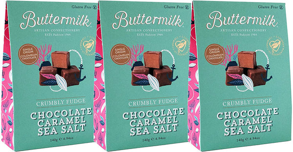 Chocolate Caramel Sea Salt (140g) - Buttermilk