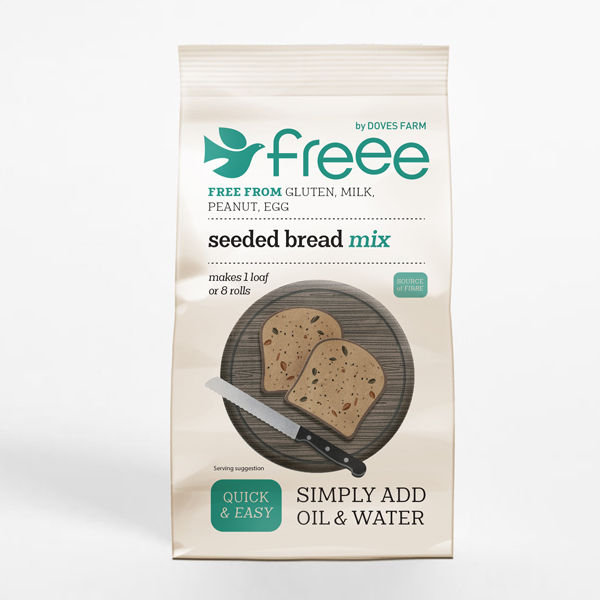 Gluten Free Seeded Bread Mix (500g) - DOVES FARM
