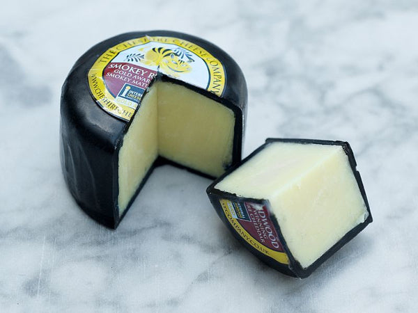 Smokey Redwood Mature Cheddar - The Cheshire Cheese Co