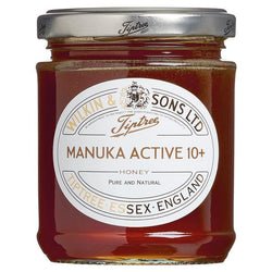 Active 10+ Manuka Honey (240g) - Tiptree