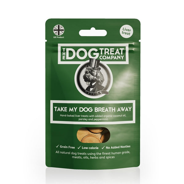 Take My Dogs Breath Away - The Dog Treat Company