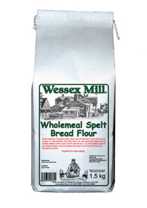 Wholemeal Spelt Bread Flour (1.5kg) - Wessex Mill